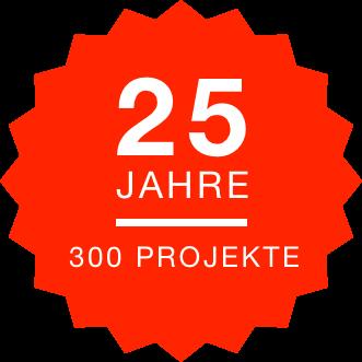 25 Jahre | 300 Projekte