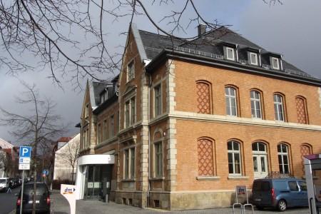 Umbau Postgebäude zur Volksbank in Ilmenau